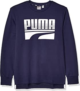 PUMA REBEL BOLD CREW FRENCH TERRY