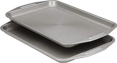 Circulon 57893 Total Nonstick Bakeware Set, Nonstick Cookie Sheets / Baking Sheets - 2 Piece, Gray