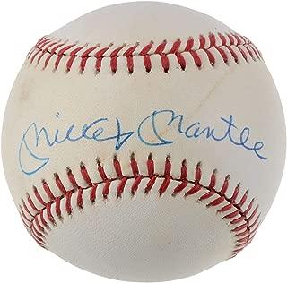 Mickey Mantle New York Yankees Autographed Vintage Baseball - Z47458 - JSA Certified - Autographed Baseballs