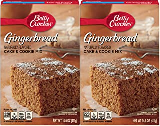 Betty Crocker Gingerbread Cake & Cookie Mix - 14.5 oz - 2 pk