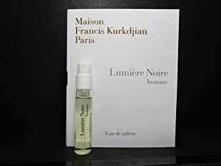 Maison Francis Kurkdjian LUMIERE NOIRE HOMME Eau de Toilette, 2ml Vial Spray With Card