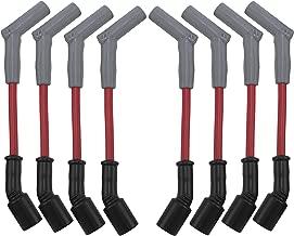 HINSON Red LSx 45 Performance Car Spark Plug Wire Set LS1 LS2 LS3 LS6 LS7 LSA