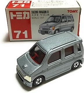 トミカ 赤箱 71 初代 スズキ ワゴンR 1/57 シルバー 赤TOMYロゴ
