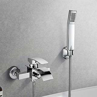 BONADE Grifo de la bañera la Cascada con el Mezclador de la Ducha del Baño del Diseño Moderno de Garantía Internacional de 2 año