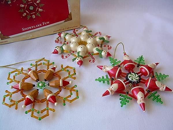 2004 Hallmark Ornament Snowflake Fun