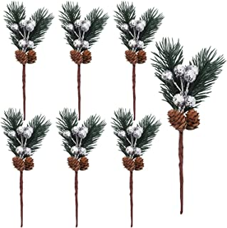 Factory Direct Craft Package of 36- Elegant Holiday White Ruscus Leaf Picks and Any Winter Decor! Perfect for Winter Floral Arrangements Weddings