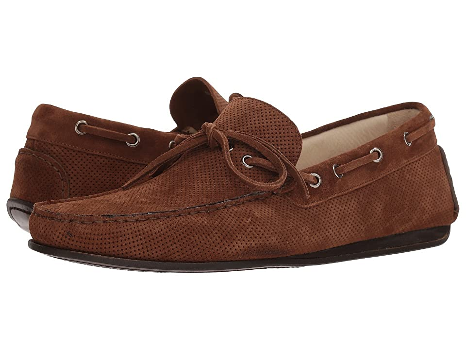Canali Perforated Moccasin (Brown) Men