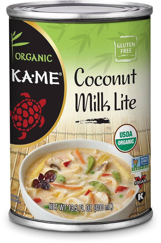 KA-ME Coconut Milk Surprise price Organic Lite 13.5 Ounce 12 of Daily bargain sale 00612 Pack