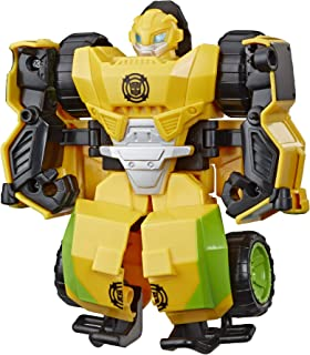 """Transformers Playskool Heroes Rescue Bots Academy Bumblebee Converting Toy Robot, 4.5"""" Action Figure, Toys for Kids Ages 3..."""