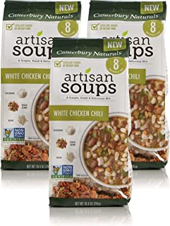 Canterbury Naturals Artisan Soup Mix, White Chicken Chili, 10.4 Ounce, Pack of 3