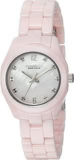 Caravelle New York Women's 45L165 Swarovski Crystal Ceramic  Watch