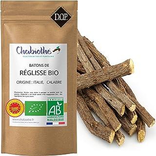 Bâtons de réglisse Bio 100g - 10 bâtons minimum