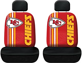 Kansas City Chiefs Auto Headrest Covers Set of Two NFL