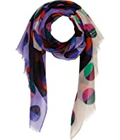 Kate Spade New York - Half Dot Oblong Scarf