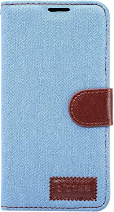 Apexel 三星 A3 手机套 - 黑色SXA7-NZB-LBL Samsung A7 浅蓝色