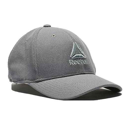 5106aaf240b75f Reebok Delta Logo Adjustable, One Size Fits All, Baseball Hat