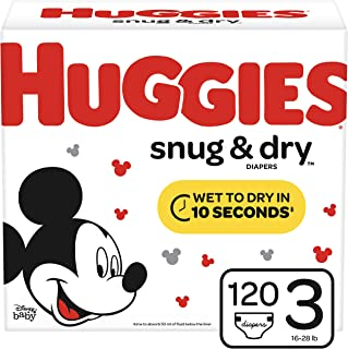 Best huggies snug and dry 222 count Reviews