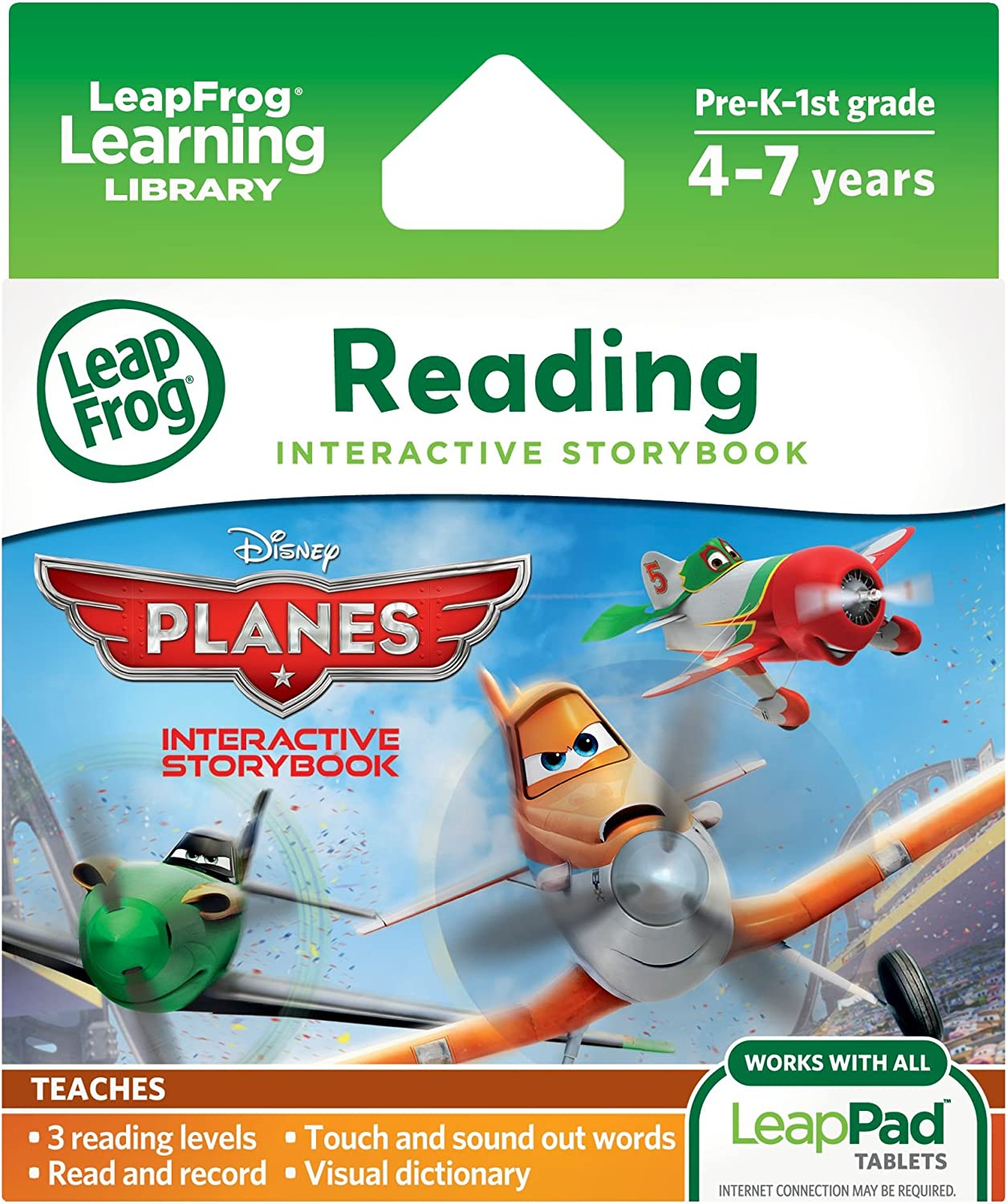 LeapFrog Disney: Planes Interactive for LeapPad Tablet Denver Mall Storybook Cheap super special price