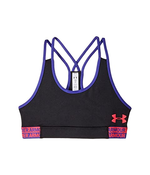 fc65e53112c5e Under Armour Kids HeatGear® Armour Bra (Big Kids) at Zappos.com