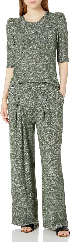 Marca Daily Ritual Cozy Knit Puff-shoulder Top shirts Mujer