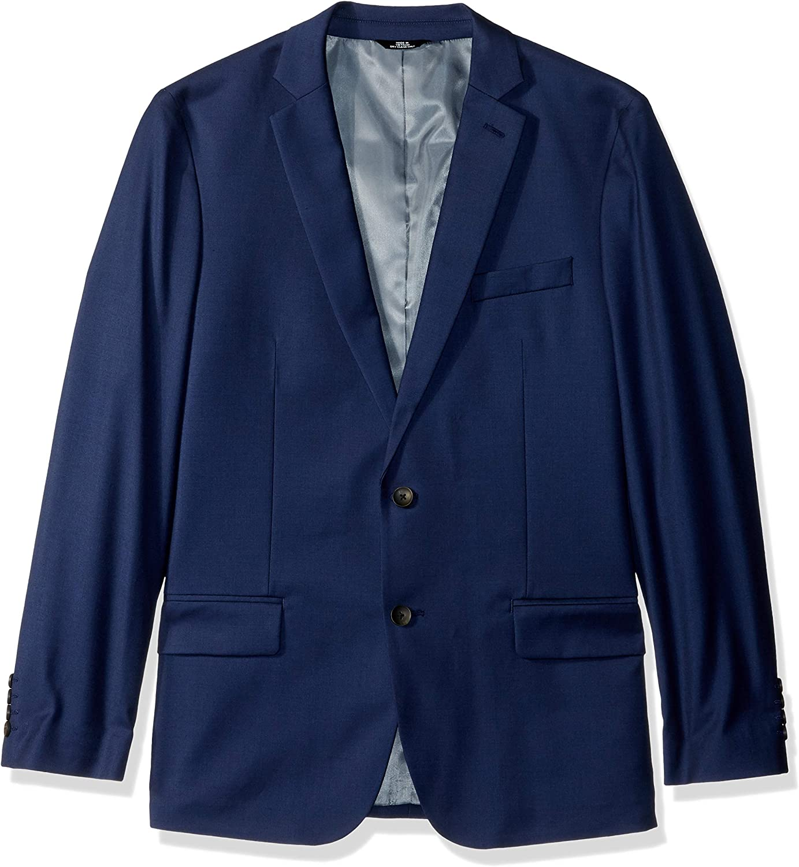 J.M. Haggar Men's Texture Weave Stretch Slim Fit Suit Separate Coat