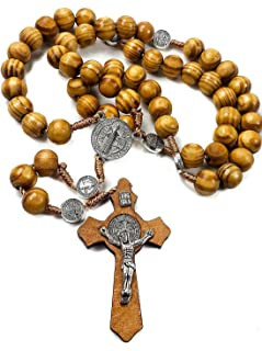 wooden cross for rosary