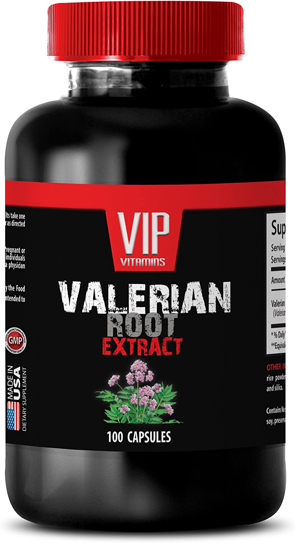 Sleeping aid Adults - Valerian Free shipping Portland Mall New 125MG Extract GAB Root