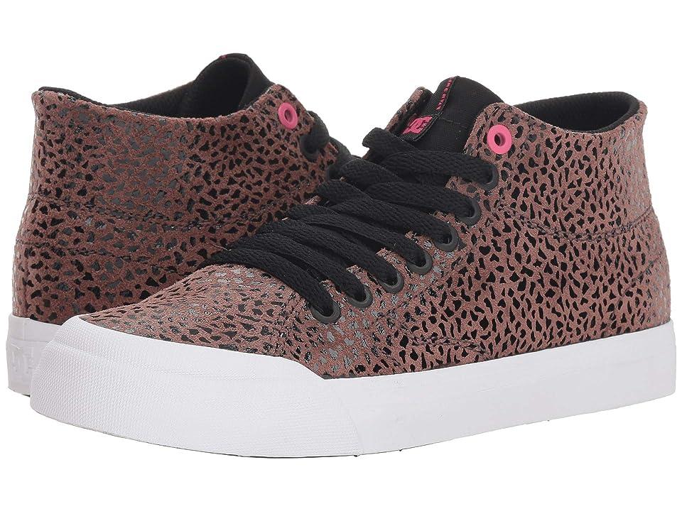 DC Evan Hi Zero SE (Cheetah Print) Women