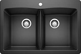 Blanco 440220 Diamond Equal Double Dual Deck-Anthracite Sink