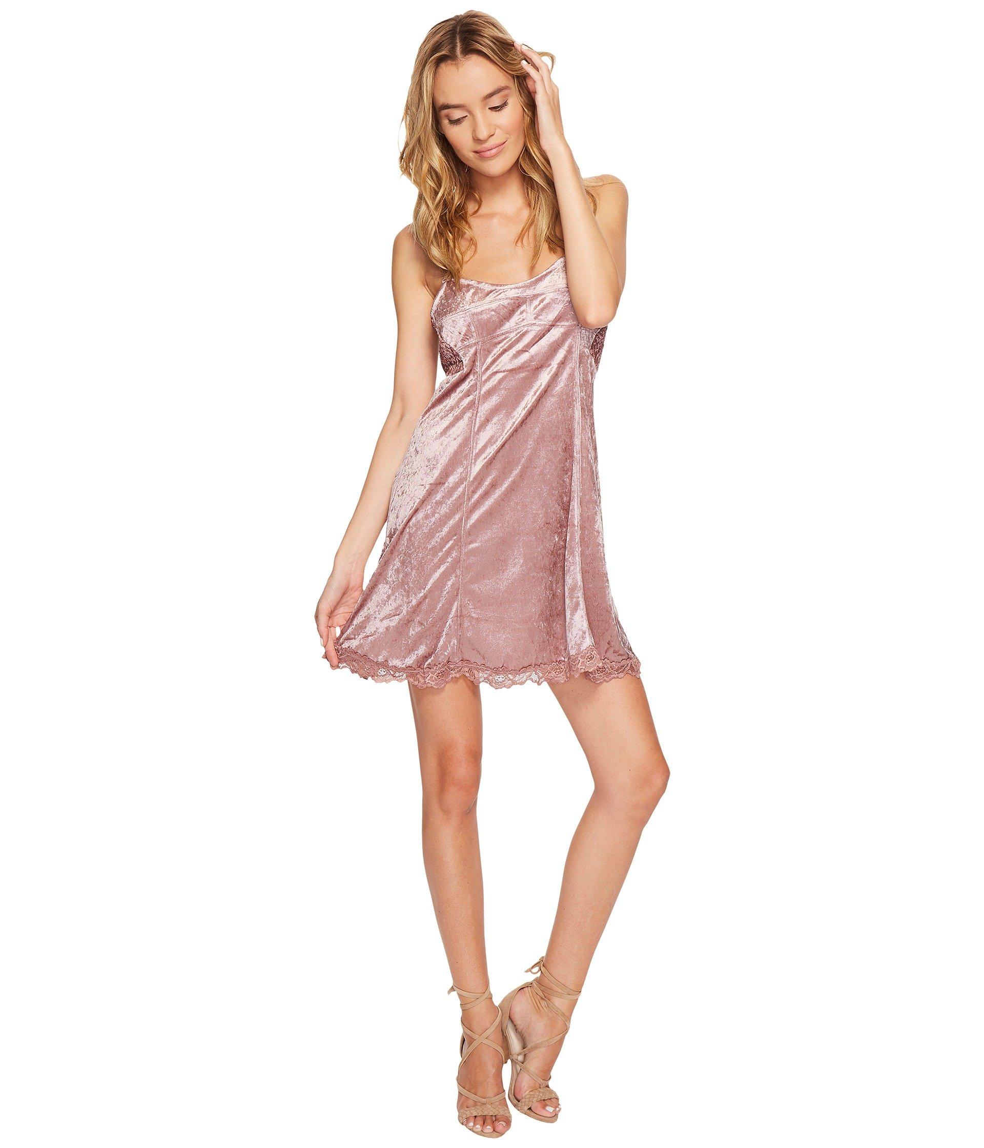 Cheeky Velvet Mini Dress