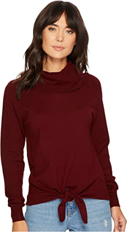 Bishop + Young - Front Tie Turtleneck Top