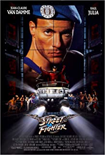 Street Fighter Movie Poster 24 x 36 Inches Full Sized Print Unframed Ready for Display