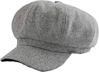 8a40ec03 DJB Women's Lightweight Soft Fit Fall Winter Beret Hats Newsboy Gatsby  Apple Cabbie Cap Hat