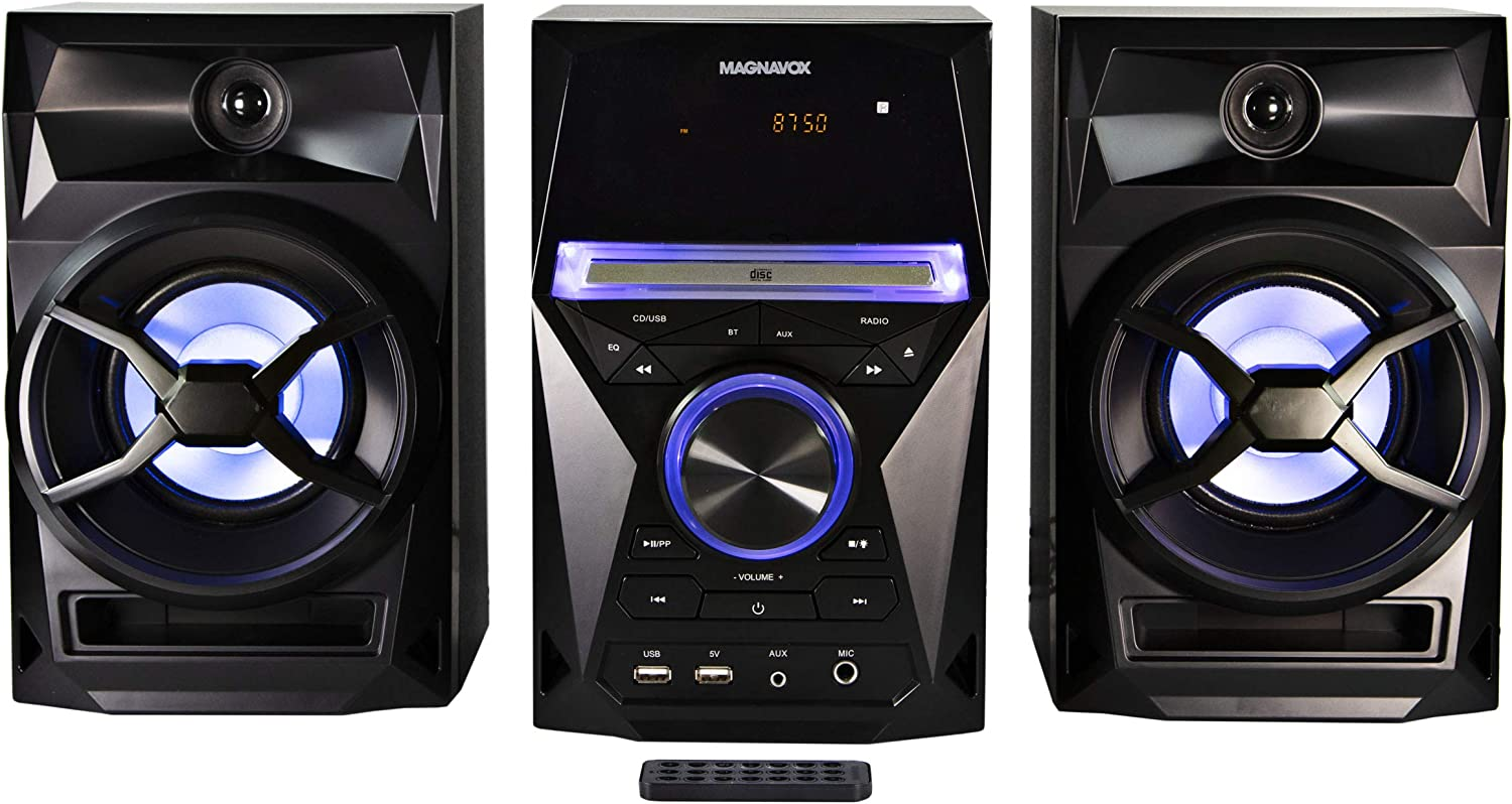 Magnavox MM441 3-Piece CD Cash special price Shelf System Excellent Stere with PLL FM Digital