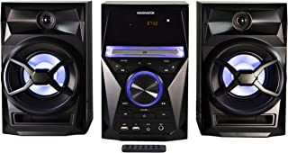 Magnavox MM441 3-Piece CD Shelf System with Digital PLL FM Stereo Radio, Bluetooth Wireless Technology, and Remote Control...