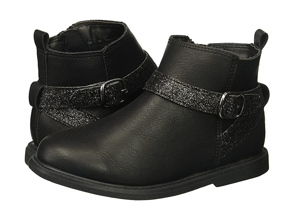Carters Nancy 2 (Toddler/Little Kid) (Black Glitter) Girl