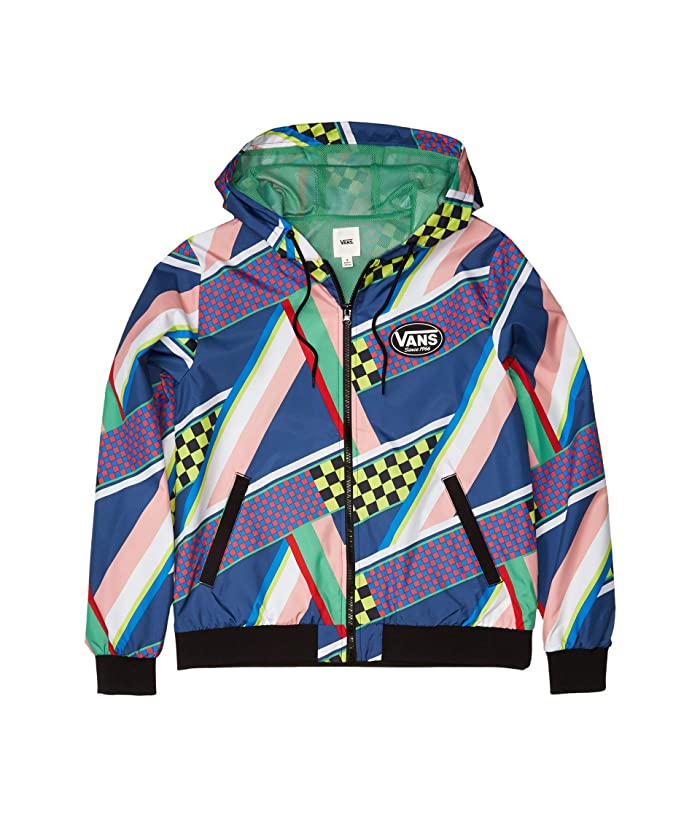 1980s Clothing, Fashion | 80s Style Clothes Vans Ramp Tested Jacket Multi Womens Clothing $69.99 AT vintagedancer.com