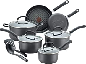 T-fal Ultimate Hard Anodized Scratch Resistant Titanium Nonstick Thermo-Spot Heat Indicator Anti-Warp Base Dishwasher Safe...
