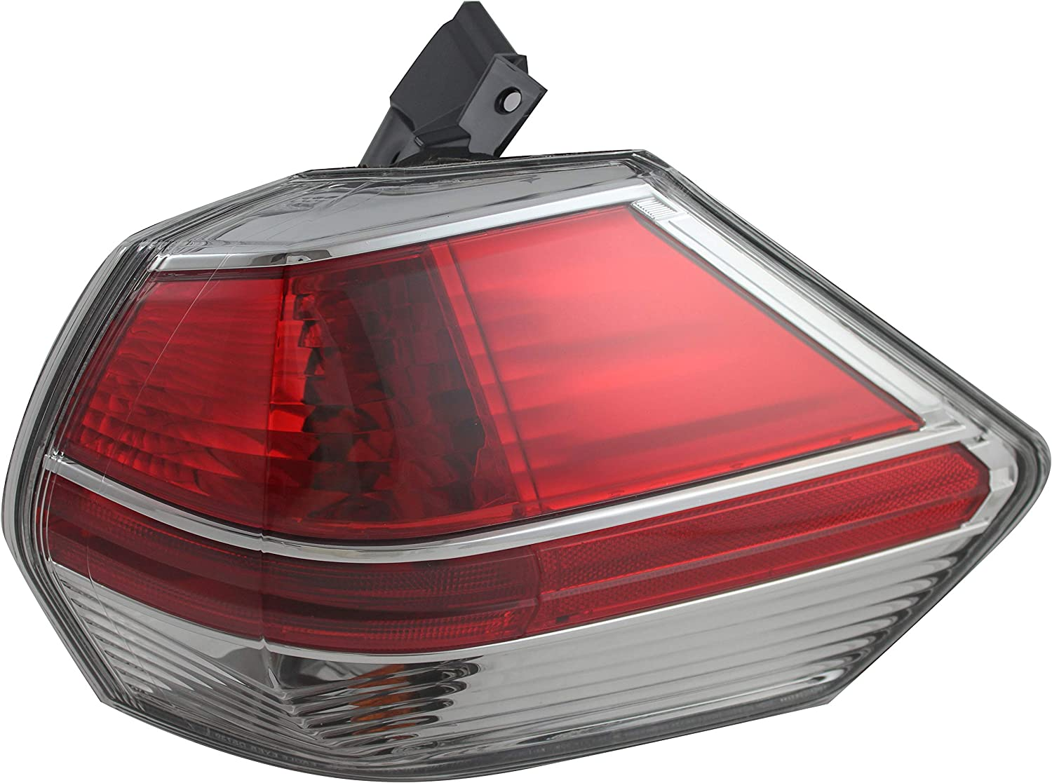 For おトク Nissan Rogue Outer Tail Light 2016 2014 Passenger 直営ストア Right 2015