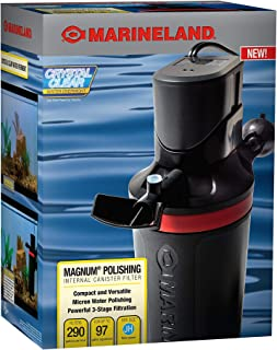 MarineLand Magnum Polishing Internal Canister Filter, For aquariums Up To 97 Gallons,..