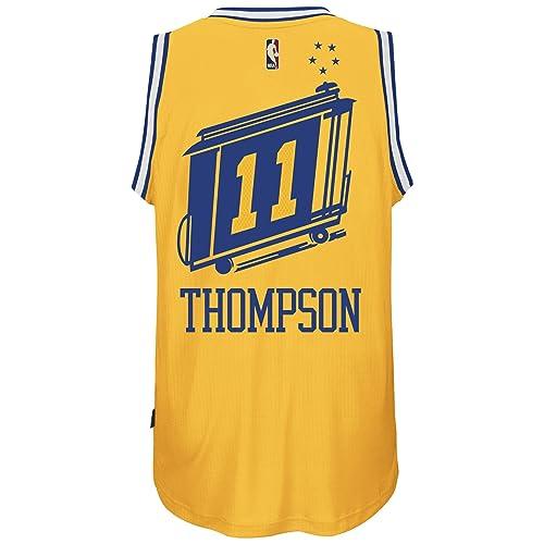 a34fda171 adidas Klay Thompson Golden State Warriors Hardwood Classics Swingman Jersey