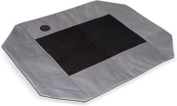 K&H Pet Products Original Pet Cot Replacement Cover Large Gray/Mesh 30