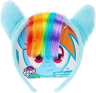 My Little Pony Rainbow Dash Plush Headband with Rainbow Hair