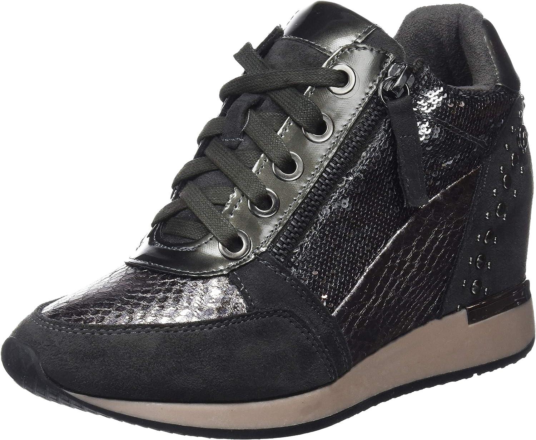 Xti Women's 48262 Hi-Top Slippers Black