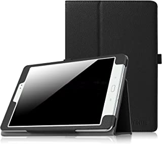 Fintie Folio Case for Samsung Galaxy Tab A 9.7 - Slim Fit Premium Vegan Leather Cover for Samsung Tab A 9.7-Inch Tablet SM-T550, SM-P550 (with Auto Sleep/Wake Feature), Black