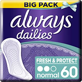 Dailies Fresh & Protect Normal Podpaski Higieniczne