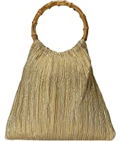Loeffler Randall - Mattie Bamboo Circle Handle Pouch