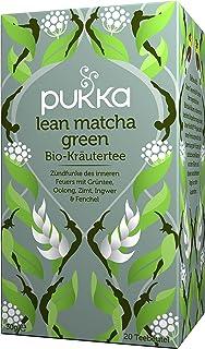 Pukka Bio-Tee Lean Matcha Green 80 Teebeutel, 4er Pack 4 x 20 beutel