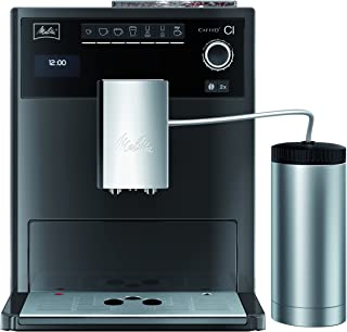 Melitta E 970-205 - Cafetera automática, color gris y negro