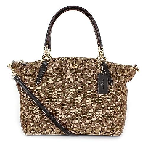 6fdcdb22 Coach Signature Handbags: Amazon.com